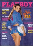 October 2000, Playboy cover image.