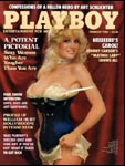 February 1984, Playboy cover image.
