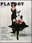 September 1961, Playboy cover image.