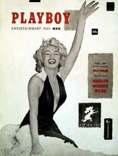 Playboy December 1953 Cover Image